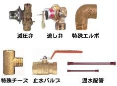 丸型タイプの電気温水器